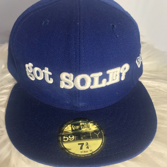 New Era Other - Blue And black  hat size 7 3/4 61.5 centimeters